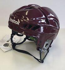 New Reebok 11K NHL/AHL Pro Stock/Return helmet medium M size ice hockey maroon