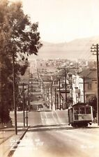 RP Postcard Cable Cars on Fillmore Street Hill San Francisco, California~126280