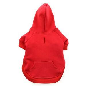 Doggie Design Red Flex-Fit Dog Hoodie  XS-4XL