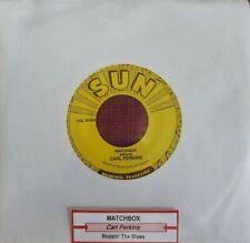 Carl Perkins 45 Matchbox/Boppin' the Blues Sun RE rockabilly MINT NEW unplayed