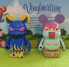 "Disney Vinylmation 3"" Park Set 6 Fantasia Night on Bald Mountain Harpy Demon"