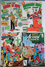 Keith Giffen Signed Comics Ambush Bug Superman Lot of 4Diff Hilarious Situations