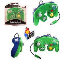Brand New Controller for Nintendo GameCube or Wii -- Green / Blue LUIGI