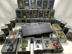 47 Figure Eaglemoss Marvel Bundle Set Collection - See Description for List