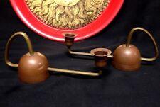 Set Of 2 Germany Jugendstil Art Nouveau CARL DEFFNER Candle Holders C1900 RARE