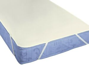 biberna Sleep & Protect Molton Cotton Premium Mattress Protector Pad 90x200cm