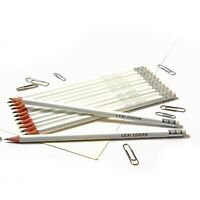 12 White HB Pencils Personalised with Name High Quality Printed/Embossed Pencils