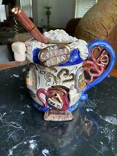 Mint 2001 Blue Sky Clayworks Heather Goldminc Coffee Bean Cafe Tealight Candle