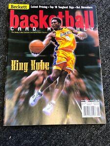 Kobe Bryant May 2000 Beckett Basketball King Kobe Los Angeles Lakers Mint