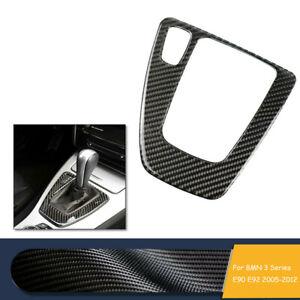 For 2005-2012 BMW 3 Series E90 E92 Carbon Fiber Gear Shift Box Panel Cover Trim