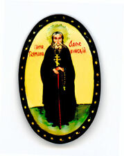 Russian Handpainted Brooches of Religous Saints_brooch_08