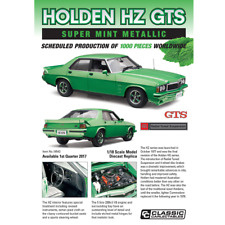 CLASSIC CARLECTABLES 1/18 DIECAST MODEL HOLDEN HZ GTS SM18543