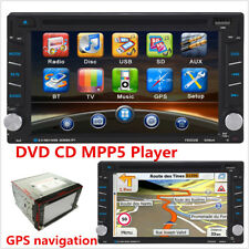 "2-DIN 6.2"" Car Touch Screen Video Player GPS Dash Radio Bluetooth DVD CD Player"