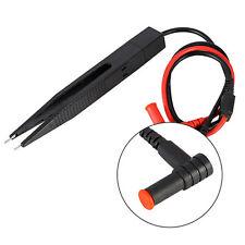 Pinzette Clip Prüfspitzen Messpinzette für SMD-Bauteile Widerstand Kondensator *
