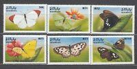 Maldives - Mail Yvert 2781/9 MNH Fauna Butterflies Butterfly