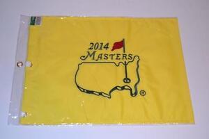 2014 MASTERS AUGUSTA NATIONAL BUBBA WATSON GOLF PIN FLAG NEW PINGFLAG