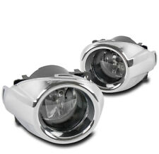 FOR 2012-2014 FORD FOCUS FRONT CHROME CLEAR LENS BUMPER FOG LIGHT LAMP W/HARNESS