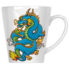 Beautifull Blue Dragon China Lovers 12oz Latte Mug y106L