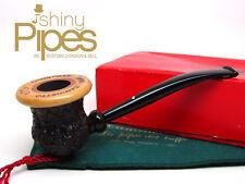 Caminetto CHRISTMAS 1990 Estate Briar Pipe w/ Box & Sleeve