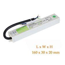 Waterproof IP67 LED Driver Powersupply Transformer DC12V 20W for LED Strip light