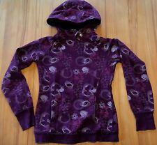 sehr schöner, violetter Sweat-Pullover mit Kapuze, Gr. M, von TCM, Baumwollmisch