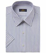 Club Room Mens Easy Care Button Up Dress Shirt