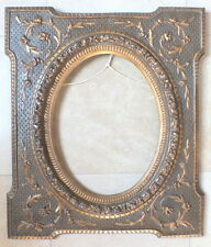 encadrement Napoleon III cadre bois stuc frame