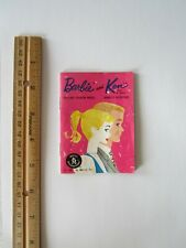 Vintage 1961 Barbie & Ken Doll Clothes Catalog Mattel Fashion Dollhouse Toy