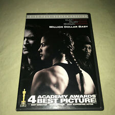 Million Dollar Baby 2 Dvd Set Clint Eastwood Hillary Swank Womens Boxing Movie