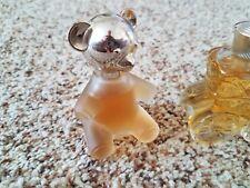 2 Avon Decorative Perfume Bottles - Teddy Bear & Carriage