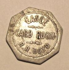 WASHINGTON TOKEN - EAGLE CARD ROOM, CLEAR LAKE, WA (LOT D479) g.f.5c
