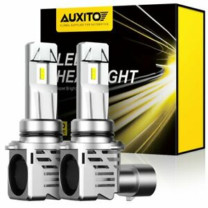 AUXITO 24000LM 9006 HB4 LED Headlight Low Beam Bulb T7 KIT 6000K PK HID HALOGENS