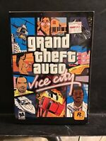 Grand Theft Auto: Vice City (PC, 2003) COMPLETE with Poster Excellent Condition