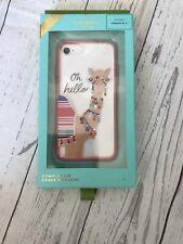 Kate Spade New York Womens Iphone Comold Case 8/7 Jeweled Camel