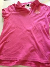 Gilly Hicks Pink Polo Small Bondi Beach Club Juniors