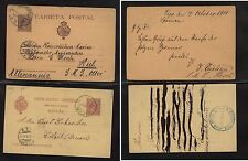 Spain  early  postal  cards  used            H0105-33