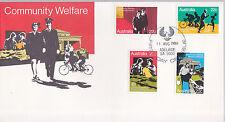 1980 Community Welfare FDC - Adelaide SA 5000 PMK