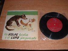 Disco vinile Favole Favola Fiaba Fiabe : La volpe furba e il lupo prepotente