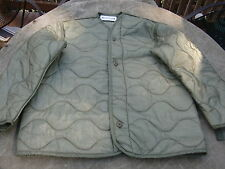 USMC US Army Large M-65 Field Jacket Liner green quilted - very good