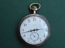 Antique Swiss Made Silver Case Pocket Watch Omega