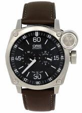 Oris Bc4 der Meisterflieger Automático Correa reloj acero hombre 749 7632 4194