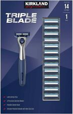 Kirkland Signature Triple Blade includes 1 Razor with 14 Cartridges NEW IN BOX