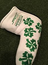 2008 Scotty Cameron Dancing 4 Clovers St Patrick's Day head cover One Of Rarest