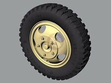 Panzer Art 1/35 Road Wheels for Ford V3000S Maultier Truck (Gelande) RE35-328