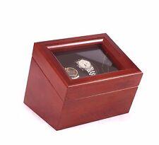 Watch Winder Automatic Watchwinder Box Rotator Watchbox Rocker Self Winding Case