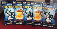 Skylanders Battlecast 8-Card Booster Pack-Lot of 5-Party Favors