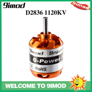 9imod D2836 1120KV 2-4S For RC Aircraft Multi-copter Brushless Outrunner Motor