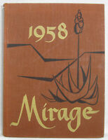 1958 Yearbook University of New Mexico, Albuquerque The Mirage