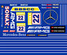 #22 KRIS NISSAN SONAX AMG Mercedes Benz DTM 1/64th HO Scale Slot Car Decals