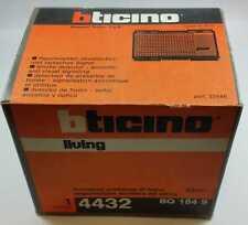 BTICINO LIVING CLASSIC 4432 RIVELATORE PRESENZA DI FUMO ACUSTICA ED OTTICA